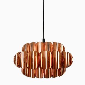 Copper Ceiling Light by Thorsten Orrling for Hans Agne Jakobsson, 1960s