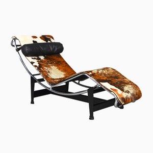 Chaise longue LC4 di Le Corbusier per Cassina, anni '60