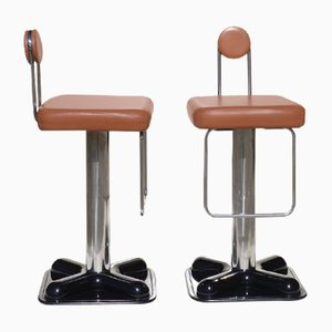 Italian Stools by Joe Colombo for Zanotta, 1971, Set of 2