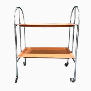 German Foldable Serving Trolley, 1960s