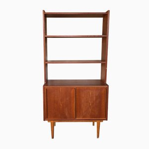 Swedish Teak Bookcase & Cabinet, 1960s