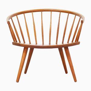 Armlehnstuhl von Yngve Ekström für Arka Stolfabriks, 1950er