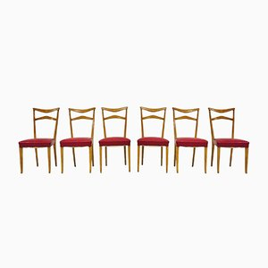 Chairs by Ico & Luisa Parisi, 1940s, Set of 6