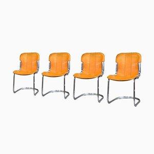Modell C2 Esszimmerstühle von Cidue, 1970er, 4er Set