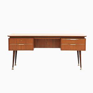 Mid-Century Freestanding Desk by Erwin Behr