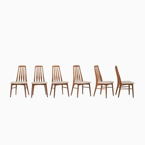 Dining Chairs by Niels Koefoed, 1964, Set of 6