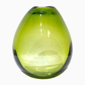 Mid-Century Mouth Blown Glass Vase by Per Lütken for Holmegaard