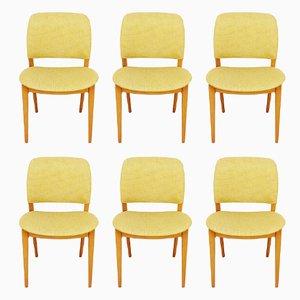Skandinavische Mid-Century Stühle, 6er Set