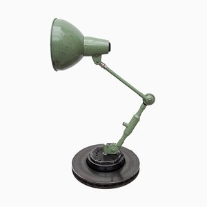 Vintage Industrial Green Desk Lamp