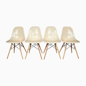 Side Chairs by Charles & Ray Eames for Herman Miller, 1950s, Set of 4