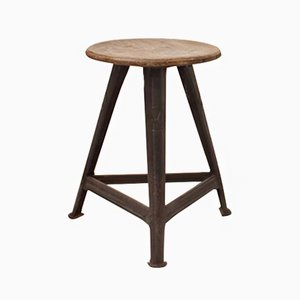German Work Stool by Robert Wagner for Rowac