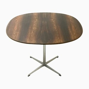 Table in Rosewood by Arne Jacobsen for Fritz Hansen, 1970s