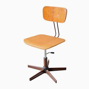 Vintage Industrial Swivel Desk Chair