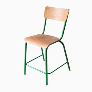 Vintage Chair with Green Frame