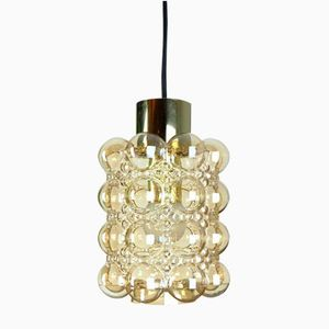Vintage Bubble Glass Hanging Lamp by Helena Tynell for Limburg