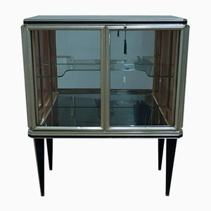 Vintage Italian Mobile Bar Cabinet by Umberto Mascagni, 1940s