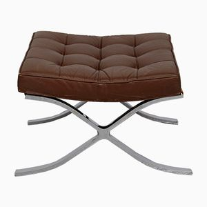 Vintage Barcelona Stool by Ludwig Mies van der Rohe for Knoll Inc