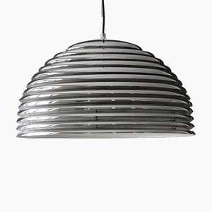 Saturno Chrome Metal Pendant Lamp by Kazuo Motozawa for Staff, 1970s