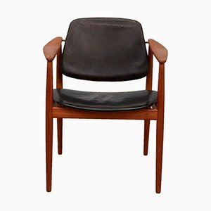Model BO62 Teak Chair by Arne Vodder for Bovirke, 1950s