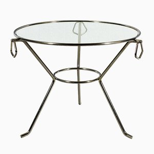 Mid-Century French Tripod Table, 1950s
