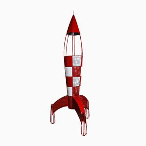 French Rocket Floor Lamp from Hergé, 1960s