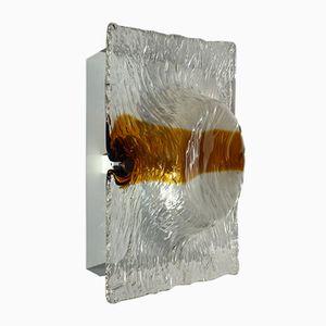Wandlampe aus Murano Glas von Toni Zuccheri für Venini, 1960er