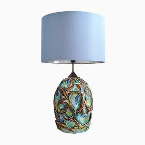 Italienische Tischlampe aus Keramik, 1960er