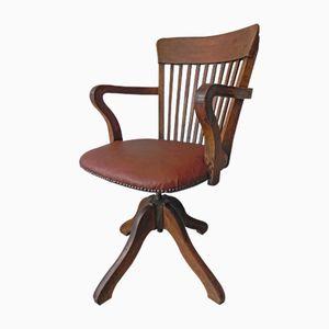 Verstellbarer Sessel aus Mahagoni, 1930er