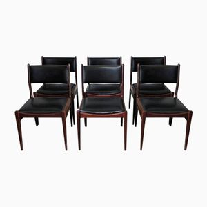 Dänische Stühle, 1960er, 6er Set