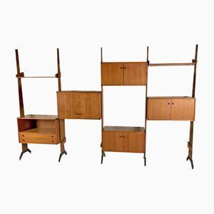 Scandinavian Modular Bookshelf, 1960s