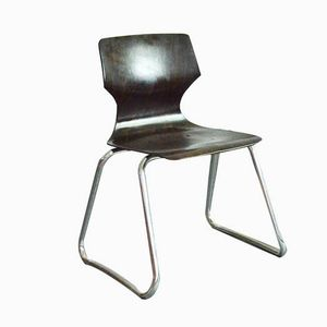 Chair by Elmar FLötotto for Pagholz FLötotto, 1980s, Set of 4