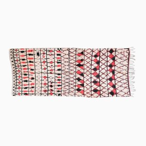 Vintage Berber Beni Ouarain Carpet