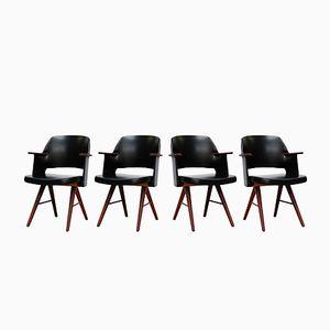 FT30 Esszimmerstühle von Cees Braakman für Pastoe, 1950er, 4er Set
