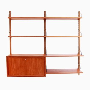 Teak Wall Shelving System by Poul Cadovius for Cado, 1960s