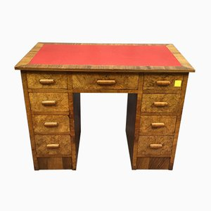 Walnuss Schreibtisch, 1930er