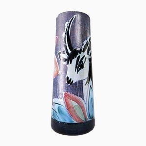Mid-Century Modern Ceramic Gazelle Vase from Nila Ceramics, 1960s