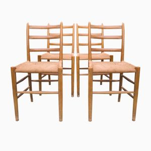 Dining Chairs by Arne Jacobsen for Fritz Hansen, 1960s, Set of 4