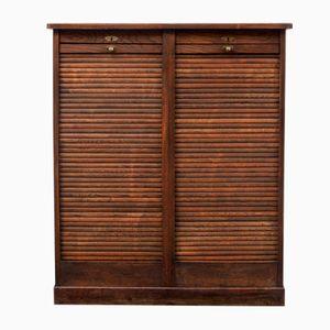 Dark Oak Cabinet, 1940s