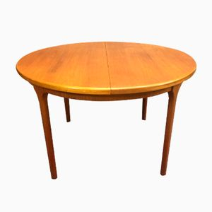Vintage Scandinavian-Style Oval Table from McIntosh, 1970s