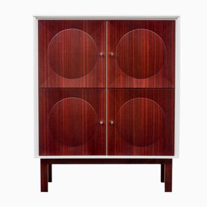 Mahogany Highboard, 1970s