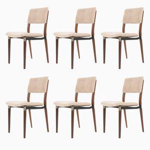 Modell S82 Stühle von Eugenio Gerli für Tecno, 1960ers, 6er Set