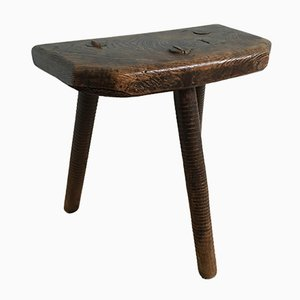 Sheffield Cutlers Three Legged Stool, 1850s