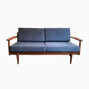 Dänisches Teak Sofa, 1960er