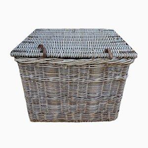 Industrial Vintage Linen Basket
