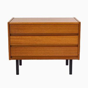 Small Teak Veneer Chest of Drawers, 1960s