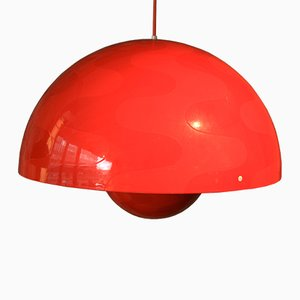 Vintage Flowerpot Lamp by Verner Panton for Louis Poulsen