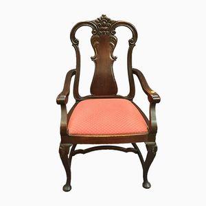 19th-Century Armchair in Oak