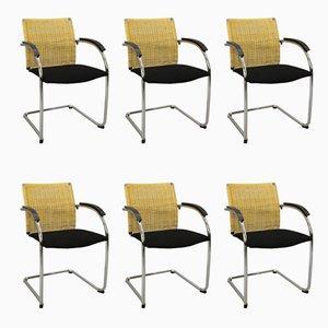 S78 Esszimmerstühle von Jozef Gorcica & Andreas Krob für Thonet, 1990er, 6er Set