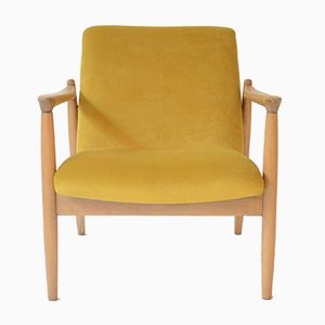 Vintage Yellow GMF-64 Armchair by Edmund Homa