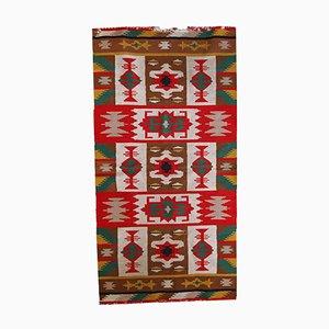 Vintage Handmade Turkish Anatolian Kilim, 1970s